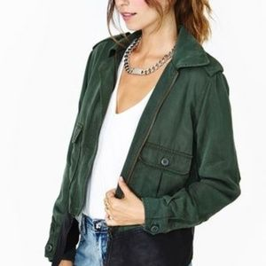 BB DAKOTA Green Army Military Jacket SMALL